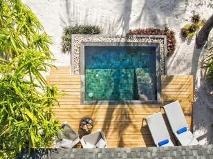 Amari Havodda Maldives Beach Pool Villa Aerial